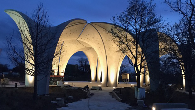 The Design And Fabrication Of Confluence Park Art Hitect